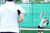硬式テニス女子