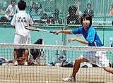 ソフトテニス男子